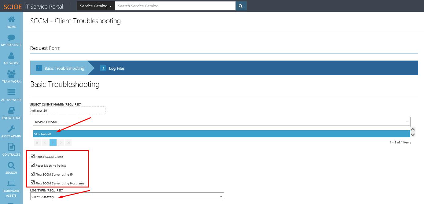 """SCCM"""" Client Troubleshooting Automation – SC Joe"""
